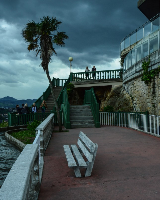 benchinspainamusmentpark